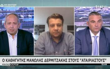 Δερμιτζάκης: Φοβάμαι ότι μπορεί να μας ξεφύγει ο ιός και τότε οι ΜΕΘ δεν φτάνουν