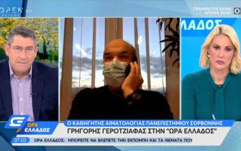 «Όσο γρηγορότερα το lockdown στην Ελλάδα, τόσο καλύτερα»