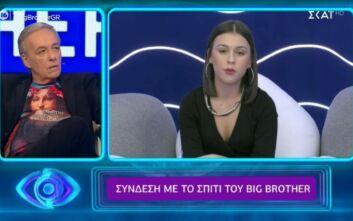 Big Brother: Ο Μικρούτσικος «έδειξε» στην Ραΐσα Κόντη μια άλλη εκδοχή του καυγά για τη λέξη «κομπάρσα»