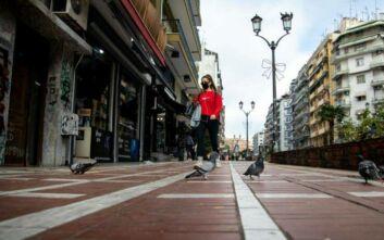 Πρώτη μέρα lockdown σε Θεσσαλονίκη και Σέρρες: Μετακινήσεις με SMS και το βράδυ απαγόρευση