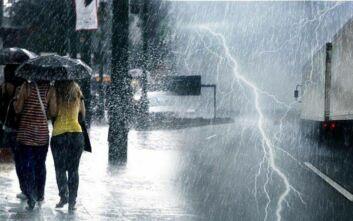 Καιρός: Κακοκαιρία από την Κυριακή με βροχές, καταιγίδες και χιόνια