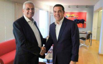 Το Κυπριακό και η τουρκική προκλητικότητα στο επίκεντρο της συνάντησης Τσίπρα - Κυπριανού