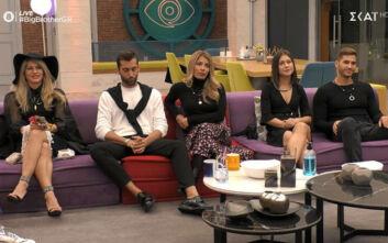 Big Brother: Γέμισε υποψηφίους προς αποχώρηση ο καναπές του σπιτιού