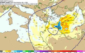 Καιρός: Οι χάρτες με τις βροχές και τις καταιγίδες - Ποιες περιοχές θα «χτυπήσουν»