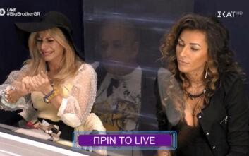 Big Brother: «Αρπάχτηκαν» Άννα Μαρία Ψυχαράκη και Ραμόνα Ραμοροσάνου μπροστά στον Μικρούτσικο - «Είσαι φίδι»