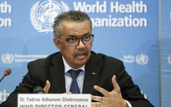 Κορονοϊός: Σε αυτοαπομόνωση ο Γενικός Διευθυντής του Παγκόσμιου Οργανισμού Υγείας