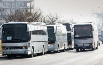 Παράταση για κατάθεση πινακίδων και αδειών τουριστικών λεωφορείων ΔΧ