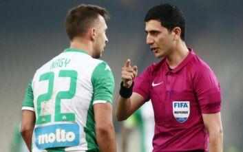 Europa League: Ο... γνωστός στην Ελλάδα διαιτητής Αλίγιεφ θα σφυρίξει το ΑΕΚ - Ζόρια