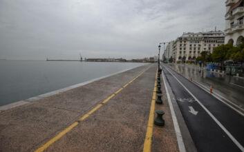 Lockdown στη Θεσσαλονίκη: Ερήμωσε η πόλη - Δείτε εικόνες