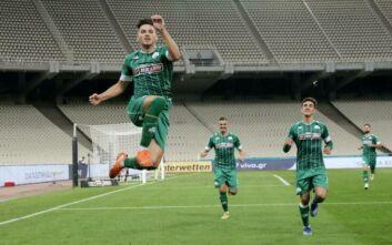 Ανεβαίνει ο Παναθηναϊκός, νίκησε με 1-0 και τον Απόλλωνα στο ΟΑΚΑ