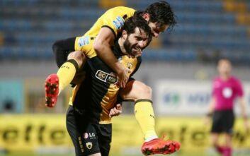 Νίκη ηρεμίας η ΑΕΚ, 2-1 τον Αστέρα στην Τρίπολη