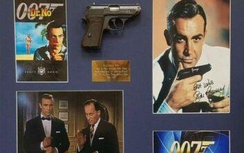 Στο «σφυρί» το όπλο του 007 Σον Κόνερι