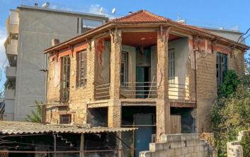 Αυτοψία Χατζηδάκη – Μπακογιάννη σε ετοιμόρροπο κτίριο στη Ριζούπολη - Δείτε φωτογραφίες από το σημείο