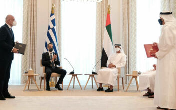 Νίκος Δένδιας: Αναβαθμίζονται πλέον και σε στρατηγικό επίπεδο οι σχέσεις Ελλάδος και Ηνωμένων Αραβικών Εμιράτων