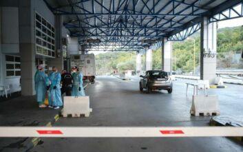 Ιωάννινα: Γύρισαν στην Αλβανία δύο λεωφορεία με εργάτες