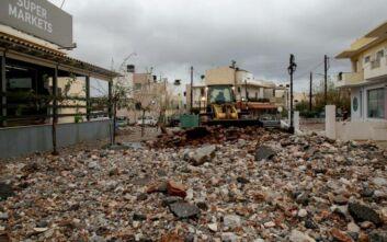 Κακοκαιρία: Σχέδιο αλά «Ιανός» στις πληγείσες περιοχές της Κρήτης