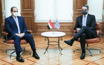 Εκτενή και σήμερα τα δημοσιεύματα του αιγυπτιακού τύπου για την επίσημη επίσκεψη του Προέδρου Αλ Σίσι στην Αθήνα