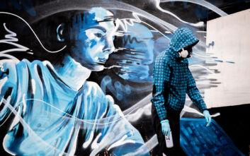 Το νέο πανέμορφο γκράφιτι του 16χρονου στην Αθήνα - Το ισχυρό μήνυμα που περνάει
