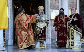 Χωρίς πιστούς ο εορτασμός του Αγίου Ανδρέα στην Πάτρα - Δείτε φωτογραφίες