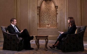 Μητσοτάκης στο Sky News Arabia: Πολλές χώρες στην περιοχή συμμερίζονται την άποψη ότι η Τουρκία δρα ως ταραχοποιός