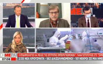 Παναγιωτόπουλος για lockdown: Πρόωρη η συζήτηση για άρση μέτρων - Να περιμένουμε 1 με 2 βδομάδες
