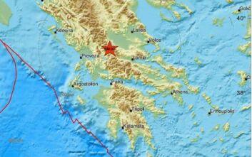 Σεισμός τώρα στην Καρδίτσα