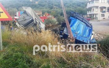 Νεκρός 24χρονος οδηγός νταλίκας στο Γιαννιτσοχώρι
