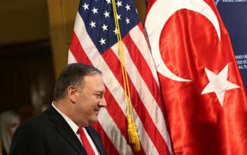 Ενόχληση Άγκυρας για τις «θρησκευτικές ελευθερίες» στην ατζέντα της επίσκεψης Πομπέο στην Τουρκία