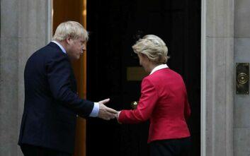 Μπόρις Τζόνσον και Ούρσουλα φον ντερ Λάιεν θα τα πουν μέσα στην εβδομάδα για μια συμφωνία για το Brexit
