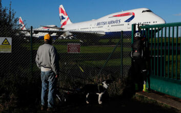 H British Airways πουλάει από ποτήρια σαμπάνιας έως αντικείμενα από το Boeing 747 που απέσυρε