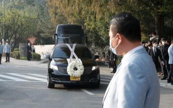 Κρούσμα κορονοϊού στην κηδεία του προέδρου της Samsung