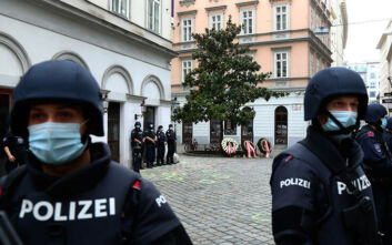 Τρομοκρατική επίθεση στη Βιέννη: Συνελήφθησαν δύο νεαροί άνδρες στην Ελβετία