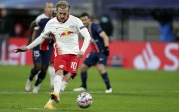 Champions League: Η Λειψία νίκησε με ανατροπή την Παρί Σεν Ζερμέν