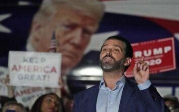 Εκλογές ΗΠΑ 2020: Ο γιος του Τραμπ καλεί τον πατέρα του να εξαπολύσει «ολοκληρωτικό πόλεμο»