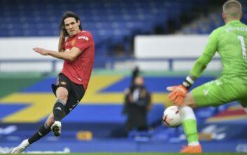 Premier League: Η Μάντσεστερ Γιουνάιτεντ πέρασε με 3-1 από την έδρα της Έβερτον