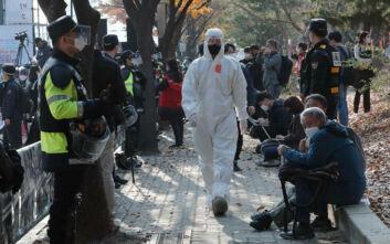 Ξεπέρασαν ξανά τα 500 τα κρούσματα του κορονοϊού στη Νότια Κορέα