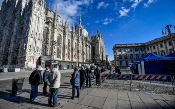 Παράταση του τοπικού lockdown σε τέσσερις περιφέρειες στην Ιταλία