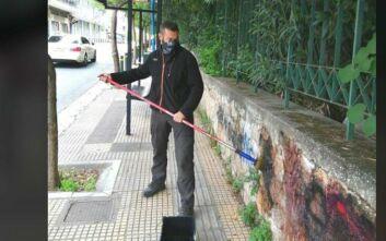 Δήμος Αθηναίων: Καθάρισε από γκράφιτι δημόσιους χώρους