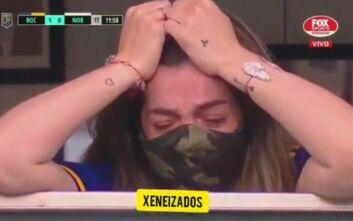 Μαραντόνα: Η κόρη του Ντάλμα είδε τους παίκτες της Μπόκα να του αφιερώνουν το γκολ και κατέρρευσε