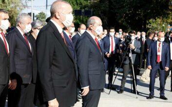 Ερντογάν: «Υπάρχει μόνο ένα θύμα στο Κυπριακό και αυτό είναι η Τουρκοκυπριακή πλευρά»