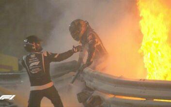Formula 1: Πώς σώθηκε ο Γκροζιάν ενώ έμεινε 27 δευτερόλεπτα στο φλεγόμενο μονοθέσιο