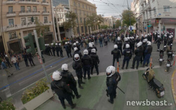 Πολυτεχνείο: Η πολιτική αντιπαράθεση για την πορεία του ΚΚΕ, οι καταγγελίες για «όργιο καταστολής» και οι εορτασμοί σε πρωτόγνωρες συνθήκες