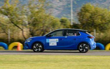 Πρώτη νίκη του ηλεκτρικού Opel Corsa-e