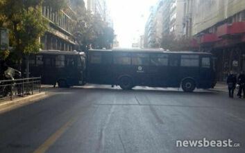 Πολυτεχνείο: Άνοιξαν οι δρόμοι στο κέντρο της Αθήνας μετά την ένταση