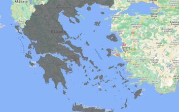 Ο νέος χάρτης υγειονομικής ασφάλειας - Όλη η Ελλάδα είναι γκρι