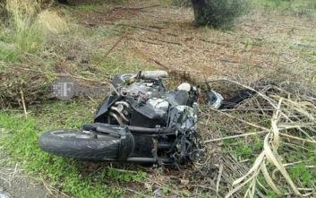 Θανατηφόρο τροχαίο με μηχανή στην Κρήτη: Νεκρός ένας νεαρός