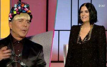 My Style Rocks: Ο Γαβαλάς εξήγησε στην Αρετή πως: «Δεν είναι κακό να ντύνεσαι νεόπλουτη αρκεί να μην αισθάνεσαι έτσι»