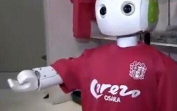 Κατάστημα στην Ιαπωνία έχει βάλει ένα ρομπότ να ελέγχει εάν οι πελάτες φορούν μάσκα και τηρούν τις αποστάσεις