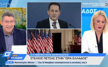 Διαψεύδει ο Στέλιος Πέτσας τα σενάρια για άμεσο lockdown στην Αττική