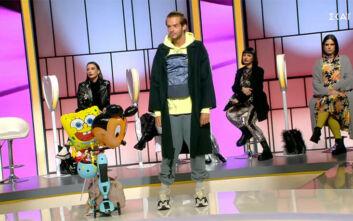 My Style Rocks: Ο Μηνάς Αηδόνης ντύθηκε «μπαμπάς με στυλ» και πήρε το πρώτο του πεντάρι